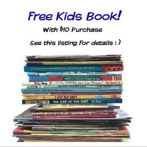 FREE Baby or Kids Book with any $10+ Purchase!
